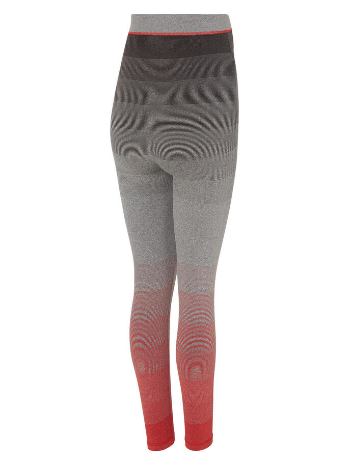 TRAININGS- TIGHTS, Light Grey Melange, large