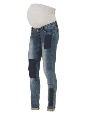 STRAIGHT MATERNITY JEANS