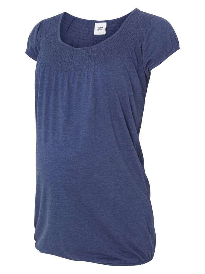JERSEY- UMSTANDSTOP, KURZARM, Twilight Blue, large