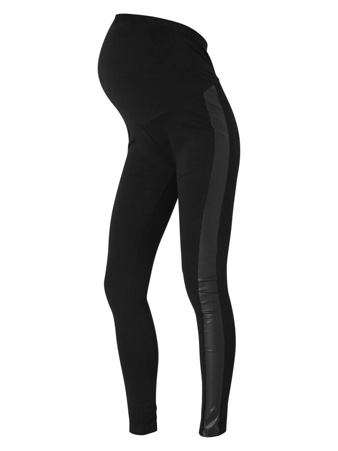 JERSEY LEGGING, Black, large