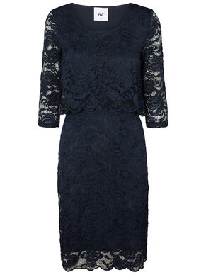 LACE NURSING DRESS