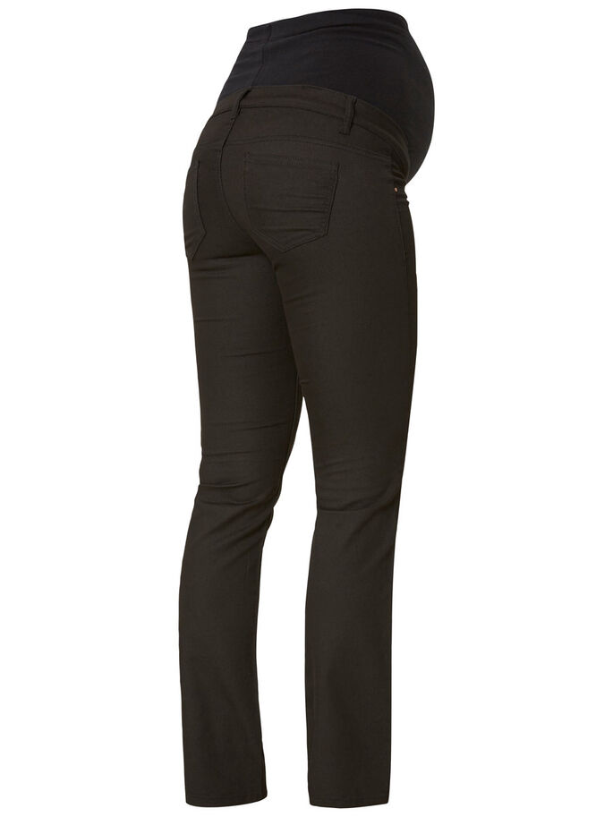 BOOTCUT MATERNITY PANTS, Black, large