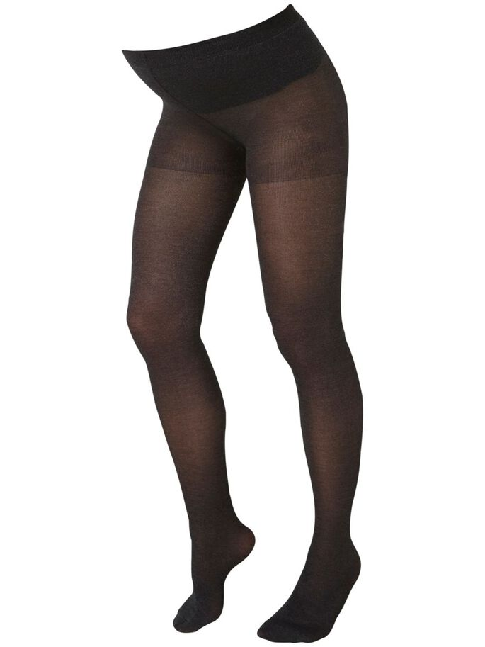 UMSTANDS- STRUMPFHOSE, Black, large