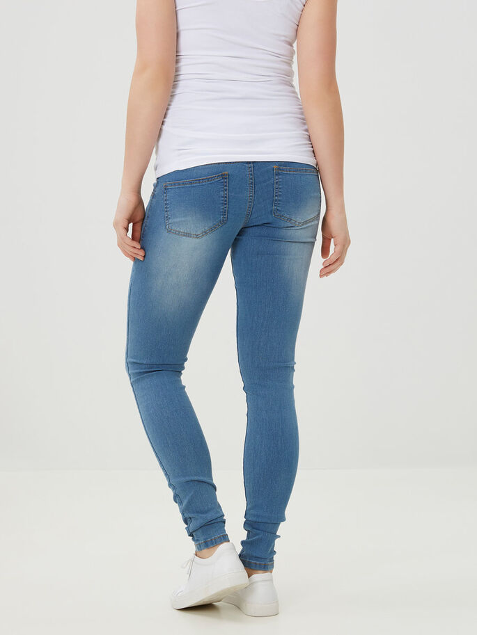 IDA UMSTANDSJEANS, Light Blue Denim, large