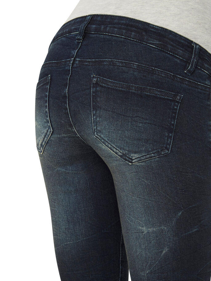 SLIM- JEANS, Dark Blue Denim, large