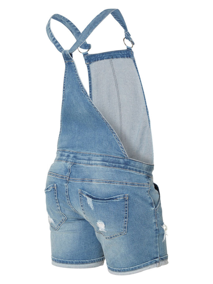 DENIM SALOPETTE, Medium Blue Denim, large