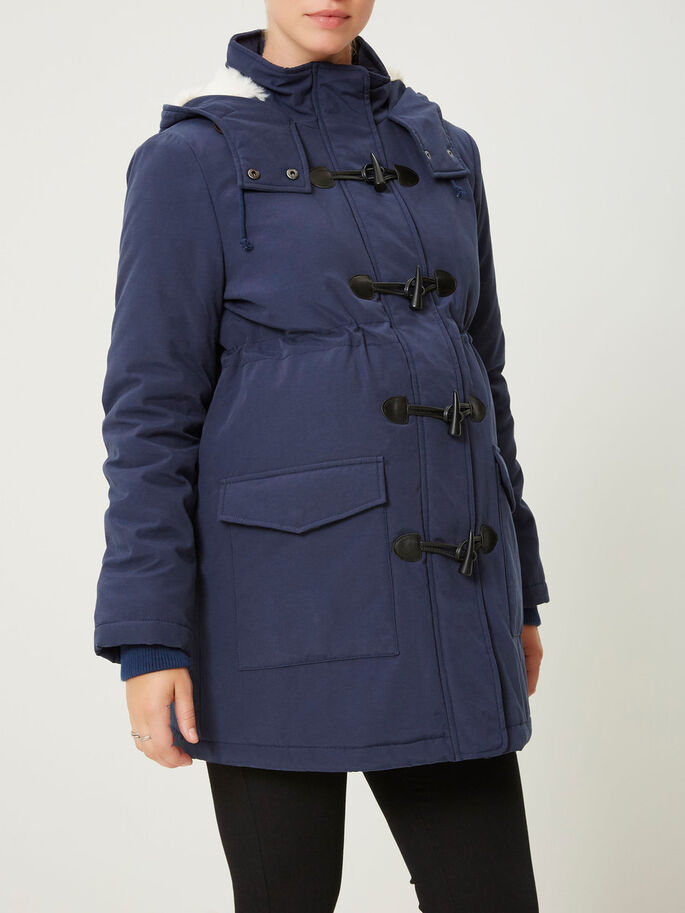 DUFFLE-COAT MANTEAU GROSSESSE, Navy Blazer, large
