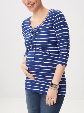 JERSEY MATERNITY TOP, 3/4 SLEEVED