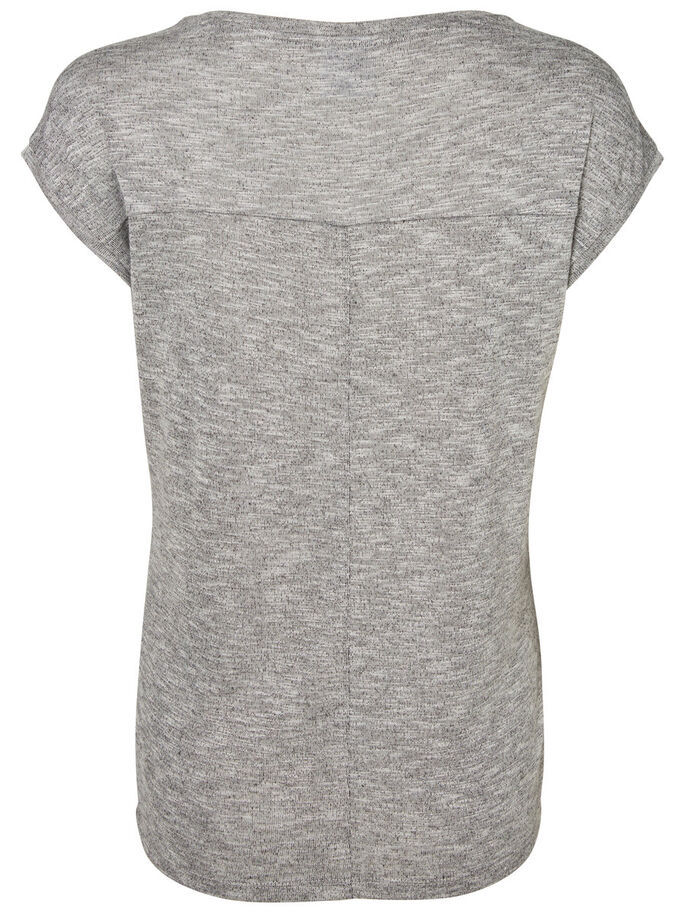 JERSEY ZWANGERSCHAPSTOP, Light Grey Melange, large