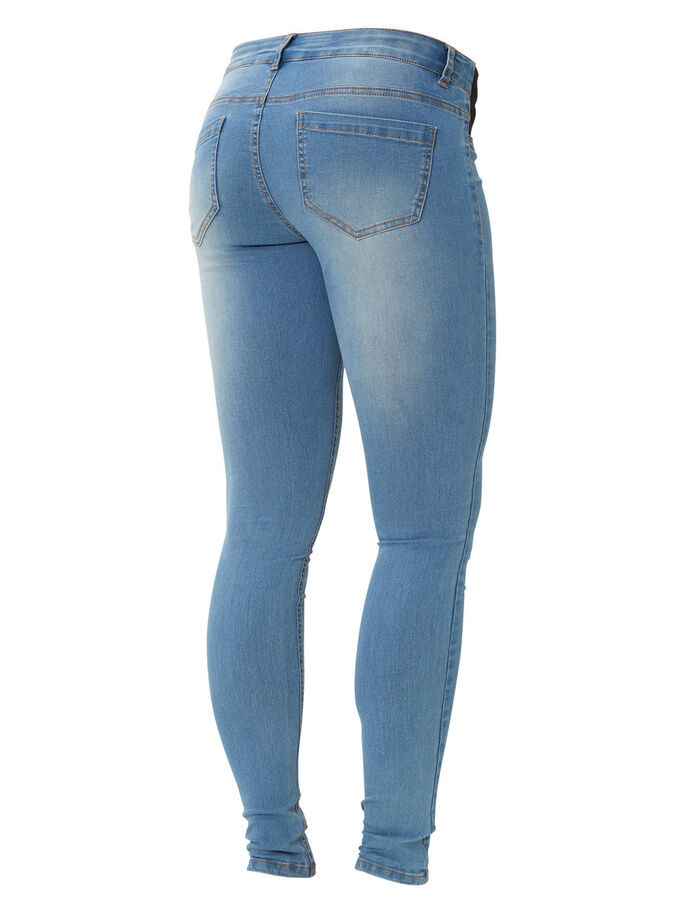 MLIDA ZWANGERSCHAPSJEANS, Light Blue Denim, large