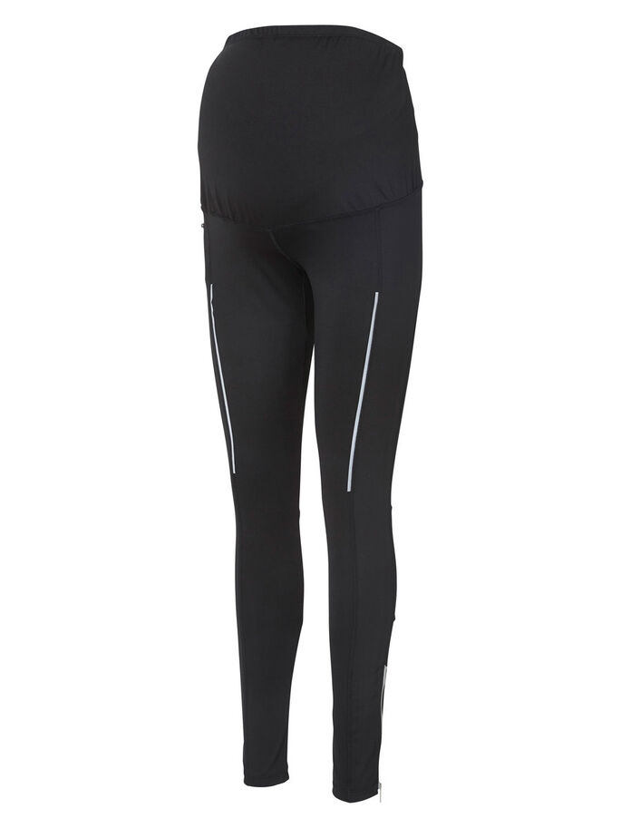 TRAININGS TIGHTS, Black, large