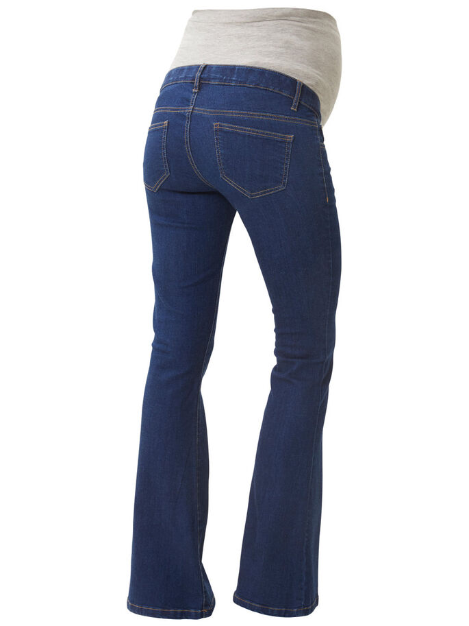 FLARED VENTEJEANS, Medium Blue Denim, large