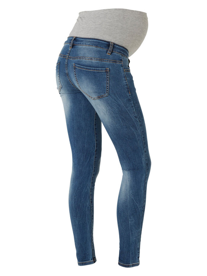 SLIM- UMSTANDSJEANS, Medium Blue Denim, large
