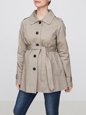 SPRING TRENCH MATERNITY JACKET