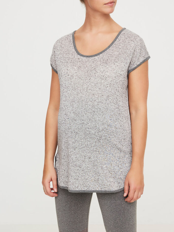 TRAININGS- UMSTANDSTOP, Light Grey Melange, large