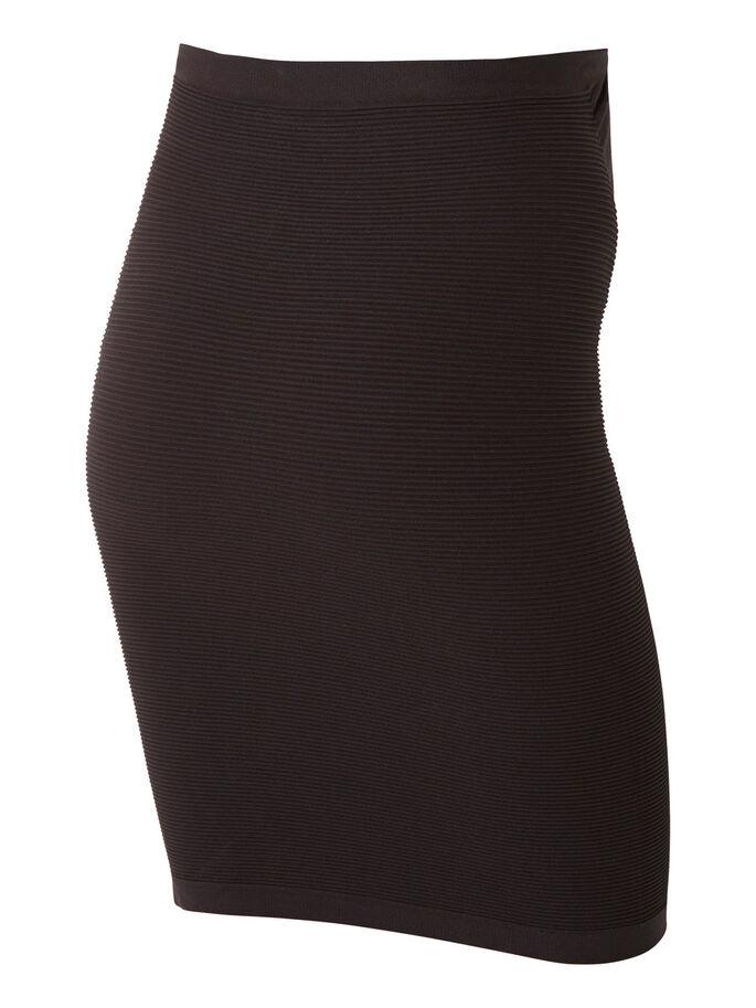 SEAMLESS TUBE SKIRT, Black, large