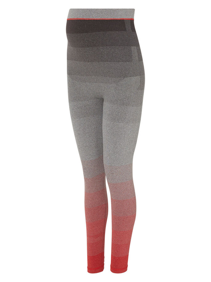 TRAININGS TIGHTS, Light Grey Melange, large