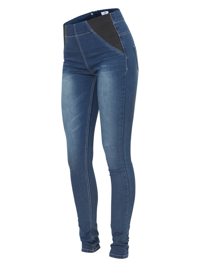 POST-PREGNANCY JEANS, Medium Blue Denim, large