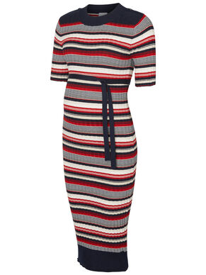 KNITTED MATERNITY DRESS