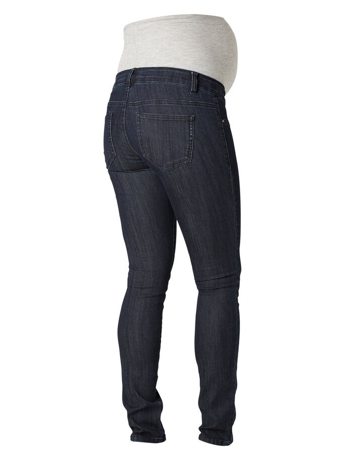 SLIM FIT MAMMAJEANS, Dark Blue Denim, large
