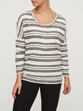 JERSEY NURSING BLOUSE, LONG SLEEVED