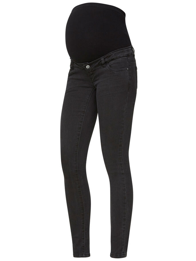 SLIM FIT MAMMAJEANS, Black Denim, large