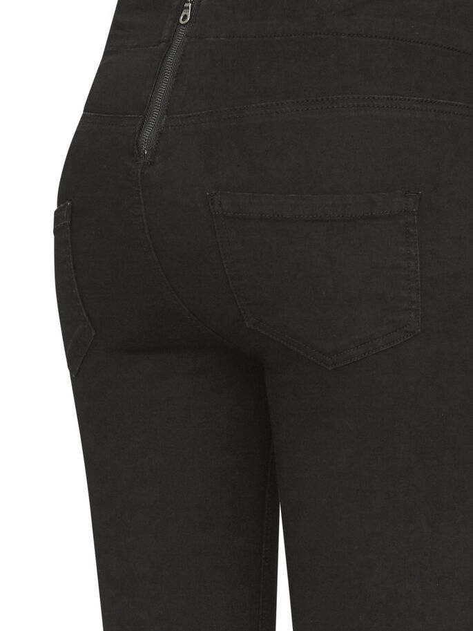 SKINNY FIT JEANS, Black Denim, large