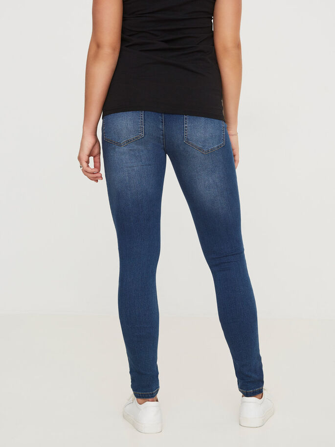 POST-PREGNANCY JEANS, Blue Denim, large