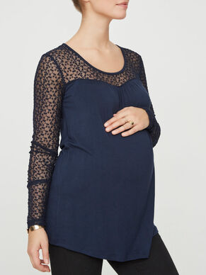 JERSEY MATERNITY TOP