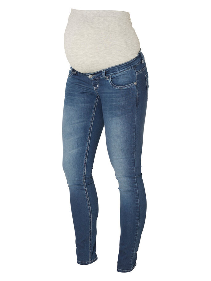 MLIDA MATERNITY JEANS, Light Blue Denim, large