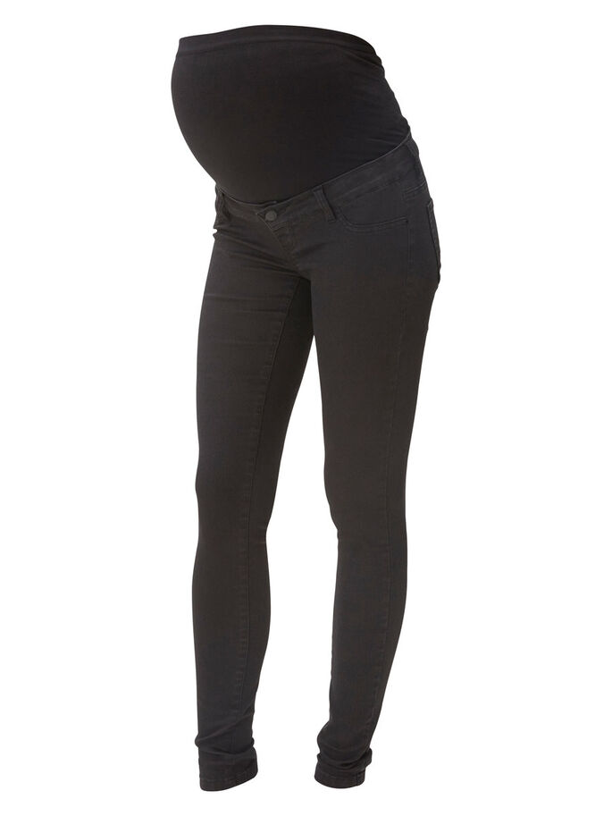 SKINNY- UMSTANDSJEANS, Black Denim, large