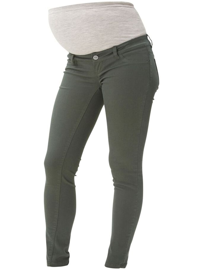SKINNY MATERNITY JEANS, Sycamore, large