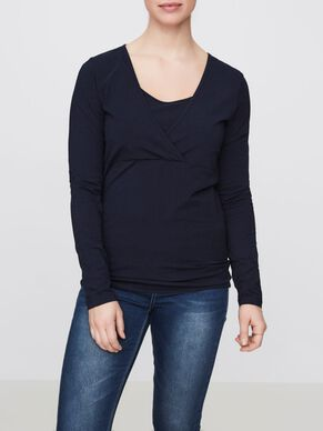 2-PACK NURSING TOP, LONG SLEEVED