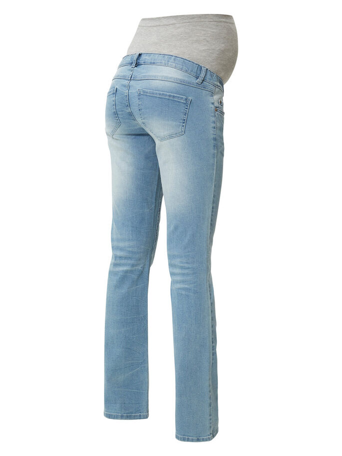 MLCLARA ZWANGERSCHAPSJEANS, BOOTCUT MODEL, Light Blue Denim, large