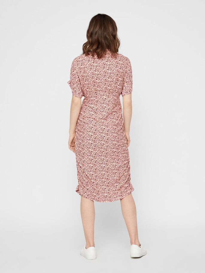FLORAL JERSEY 2-IN-1 MATERNITY DRESS, Mellow Rose, large