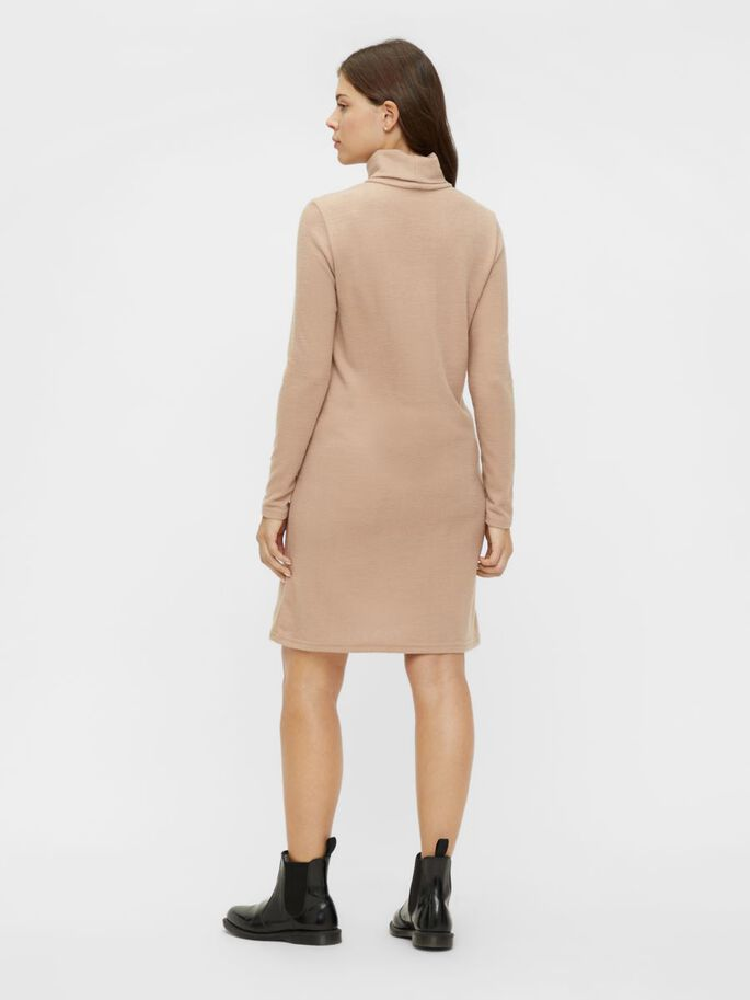 PCMPAM MATERNITY DRESS, Warm Taupe, large