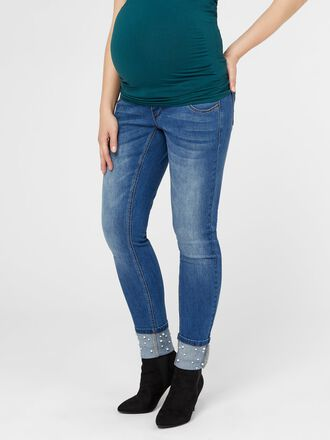 PERLES JEAN SLIM FIT DE GROSSESSE