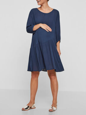3/4 SLEEVED MATERNITY DRESS