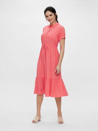 MLSAPHIRA NURSING MIDI DRESS