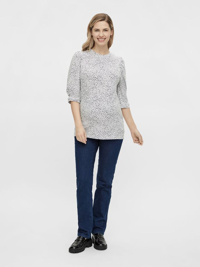 MLBEATRICE MATERNITY TOP, Snow White, large
