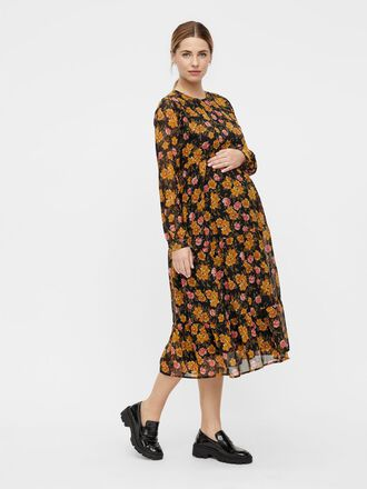 PCMTHILDE MATERNITY MIDI DRESS