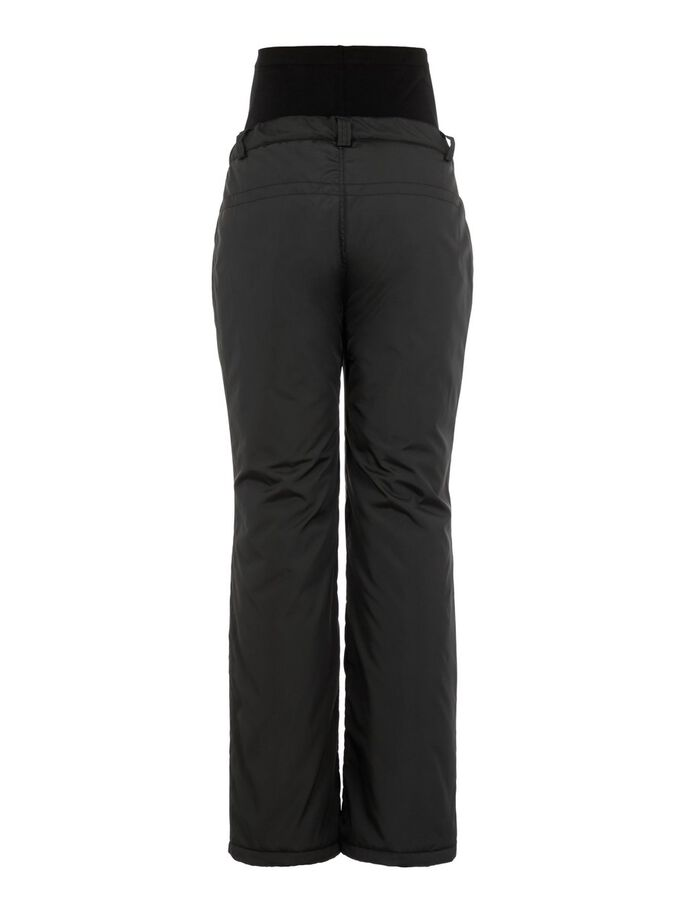 PADDED MATERNITY OVERTROUSERS, Black, large