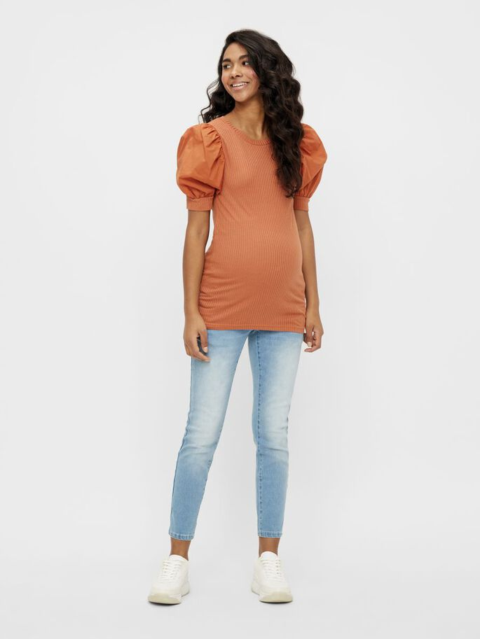 MLSALLY MATERNITY TOP, Sunburn, large