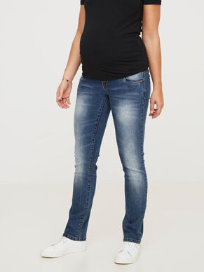 PLAIN MATERNITY JEANS, REGULAR FIT