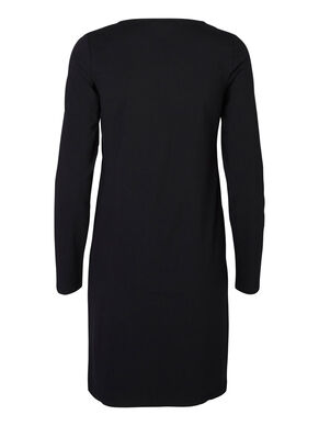 LONG SLEEVED BASIC NURSING DRESS, SHORT