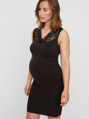 LACE MATERNITY TOP, SLEEVELESS