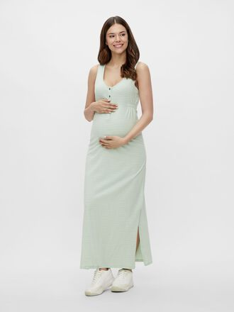 MLHANNE STRIPED 2-IN-1 MATERNITY DRESS