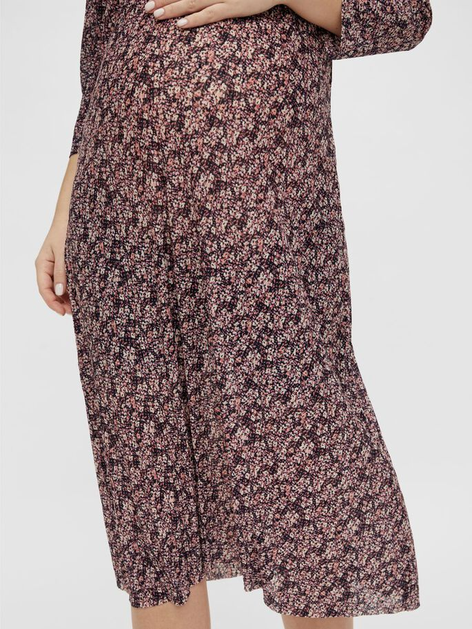PCMGWENA MATERNITY MIDI DRESS, Winsome Orchid, large