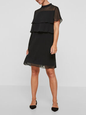 WOVEN NURSING DRESS