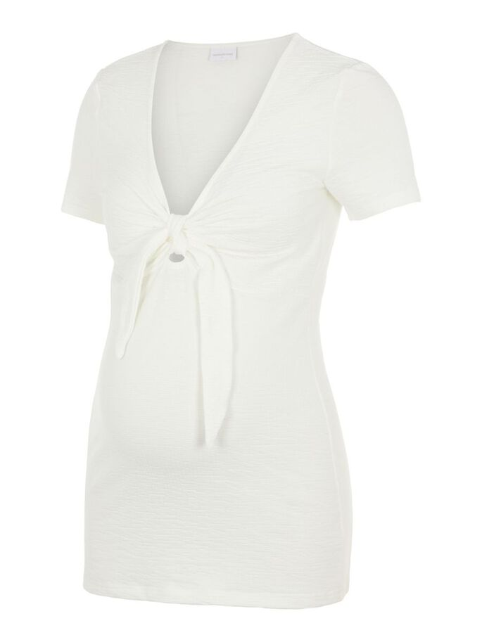 MLASIA MATERNITY TOP, Snow White, large